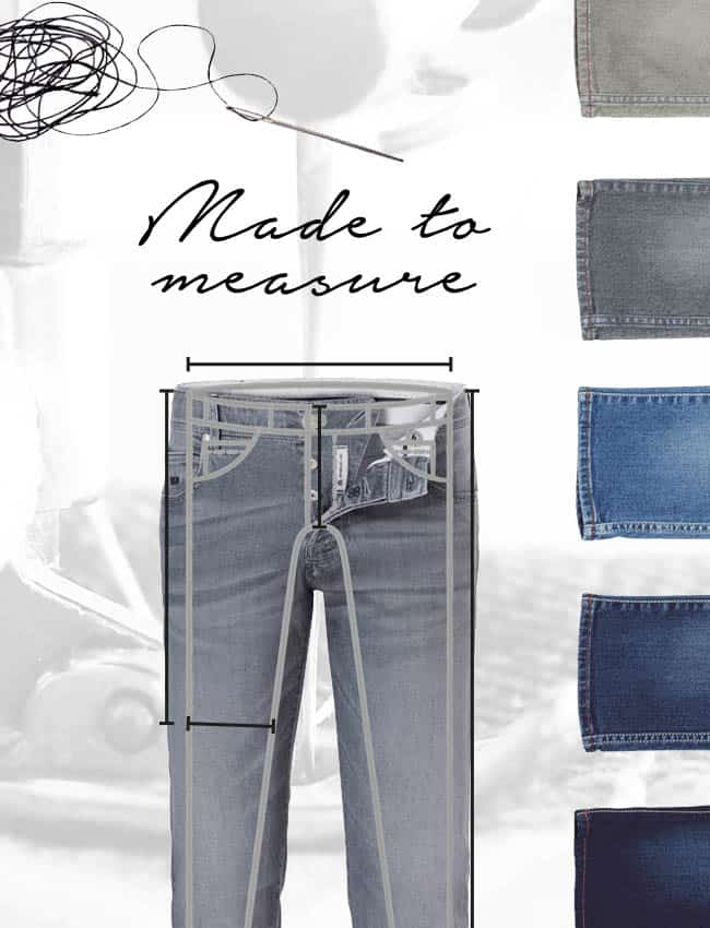 De eerste Jeans-op-Maat